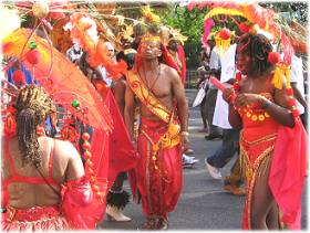 West Indian Day Parade on Eastern Parkway