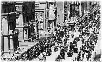 Easter Parade in New York 1900