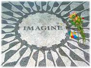 Strawberry Fields, John Lennon Memorial  in Central Park