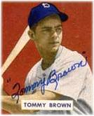 Brooklyn Dodger Tommy Brown