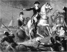 Washington evacuating Brooklyn Heights to Manhattan, Battle of Long Island