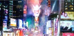 TImes Square, New Year's Eve